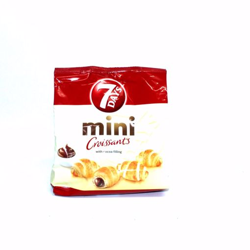 Picture of 7 Days Mini Croissant With Cocoa Filling 185G