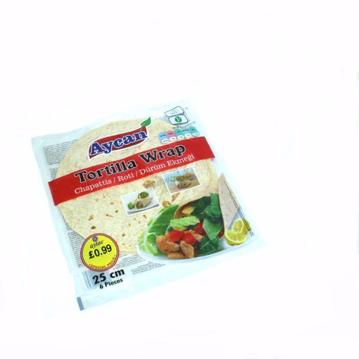 Picture of Aycan Tortilla Wrap 25Cm
