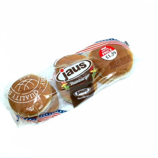 Picture of Jaus 6 Plain Hamburger Buns 300G