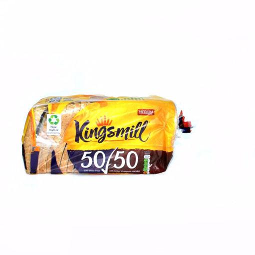 Picture of Kingsmill Medium 50/50 Sliced Bread 800G