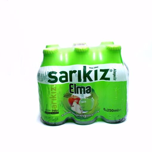 Picture of Sarikiz Apple Flavored Sparkling Water 6X250ml