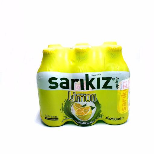 Picture of Sarikiz Lemon Flavored Sparkling Water 6X250ml
