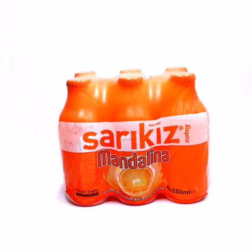 Picture of Sarikiz Tangerine Flavored Sparkling Water 6X250ml