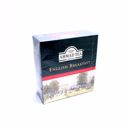 Picture of Ahmad English Breakfast 100 Tea Bags 200G