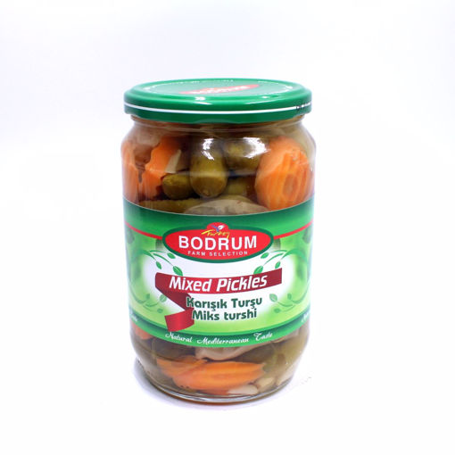 Picture of Bodrum Mixed Vegetable Pickles 670G