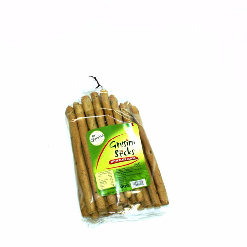 Picture of Cypressa Grissini Sticks With Black Olives 250G
