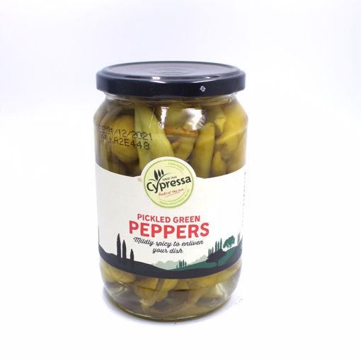 Picture of Cypressa Pickled Green Peppers 670G