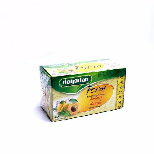 Picture of Dogadan Apricot 20 Tea Bags 40G