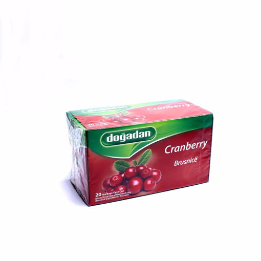 Picture of Dogadan Cranberry 20 Tea Bags 40G