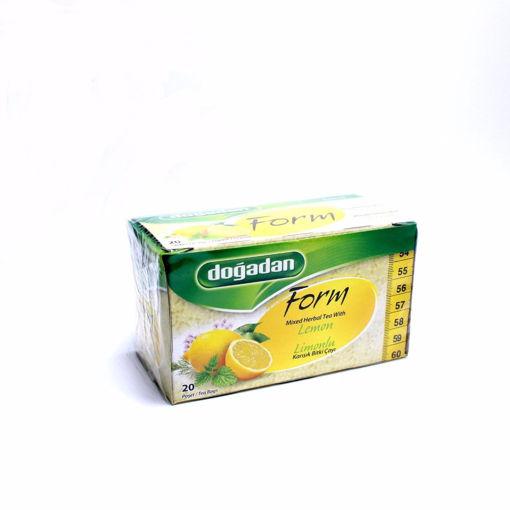 Picture of Dogadan Lemon 20 Tea Bags 40G