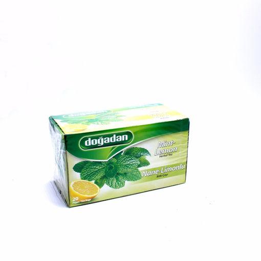 Picture of Dogadan Mint & Lemon 20 Tea Bags 40G