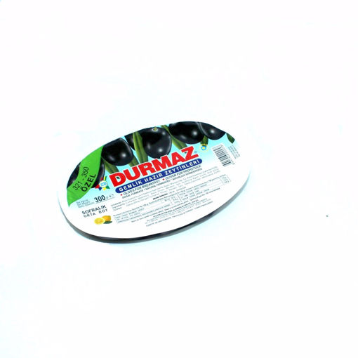 Picture of Durmaz Black Olives 300G