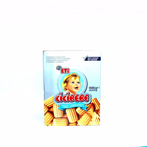 Picture of Eti Baby Biscuits 4X250g