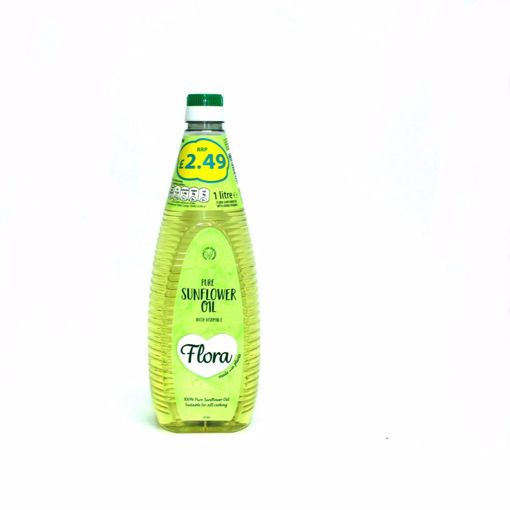Picture of Flora Pure Sunflower Oil 1Lt