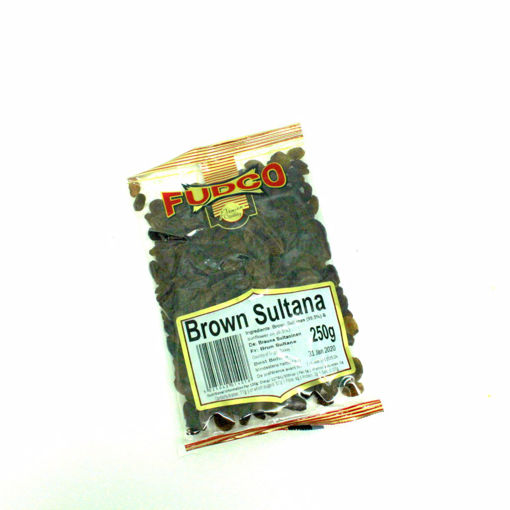 Picture of Fudco Brown Sultana 250G