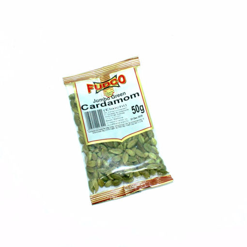 Picture of Fudco Jumbo Green Cardamom 50G