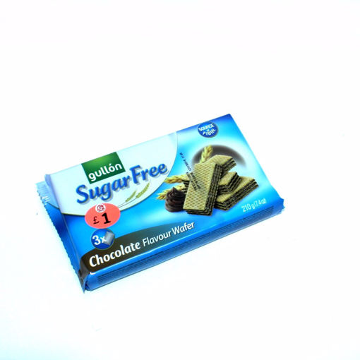 Picture of Gullon Sugar Free Chocolate Flavour Wafer 210G
