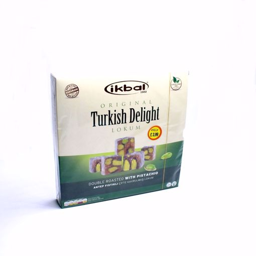 Picture of Ikbal Turkish Delight Double Roasted With Pistachio 350G
