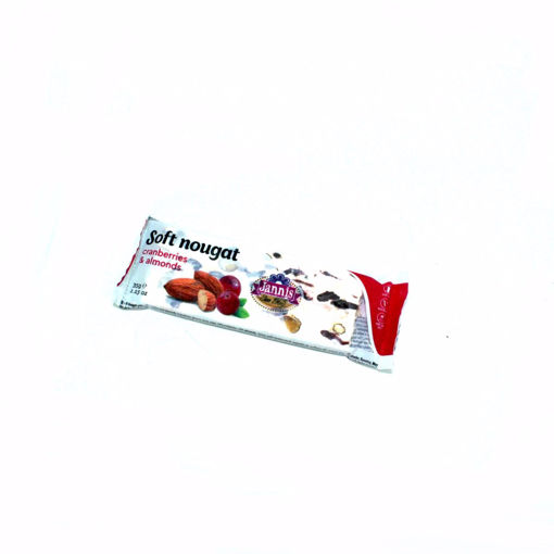 Picture of Jannis Soft Nougat Cranberries & Almonds 35G