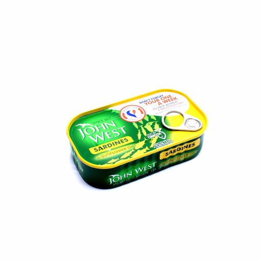 Picture of John West Sardines In Sunflower Oil 120G
