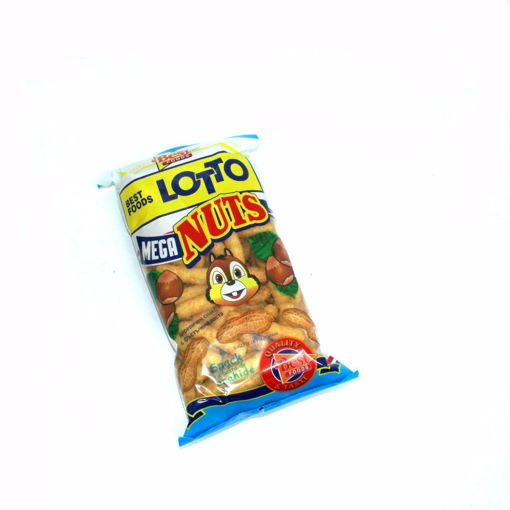 Picture of Lotto Mega Corn Snack With Peanut Paste 60G
