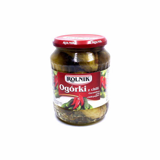 Picture of Rolnik Cucumber With Chilli Pepper 650G