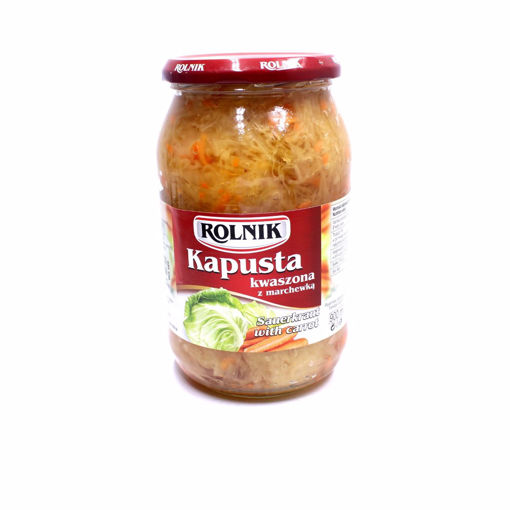 Picture of Rolnik Sauerkraut With Carrot 850G