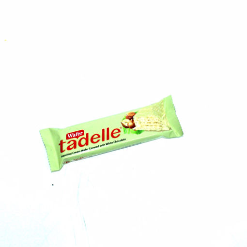 Picture of Tadelle Hazelnut Cream Wafer Covered With White Chocolate 35G