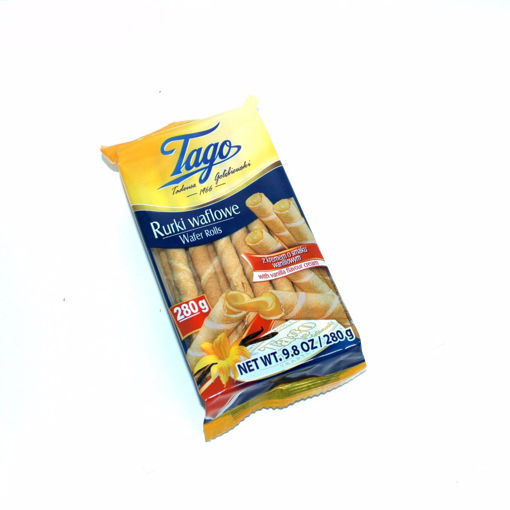 Picture of Tago Wafer Rolls With Vanilla Flavour Cream 260G