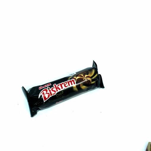 Picture of Ulker Biskrem Duo Cocoa Cream Filled Cookie 130G