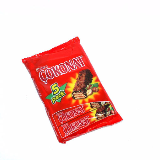 Picture of Ulker Cokonat Milk Chocolate Coated Chocobar 120G