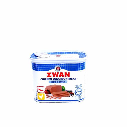 Picture of Zwan Chicken Luncheon Meat Hot & Spicy 340G