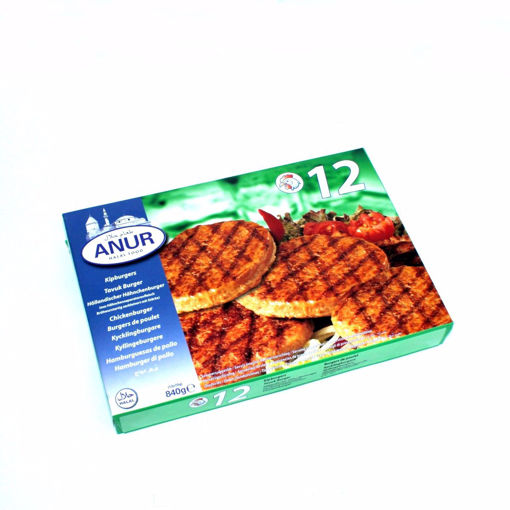 Picture of Anur Chicken Burger 840G
