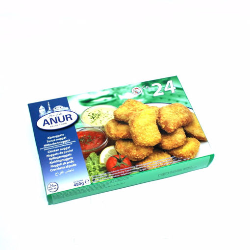 Picture of Anur Chicken Nuggets 480G