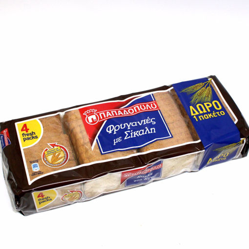 Picture of Papadopoulos Rye Rusks 320G