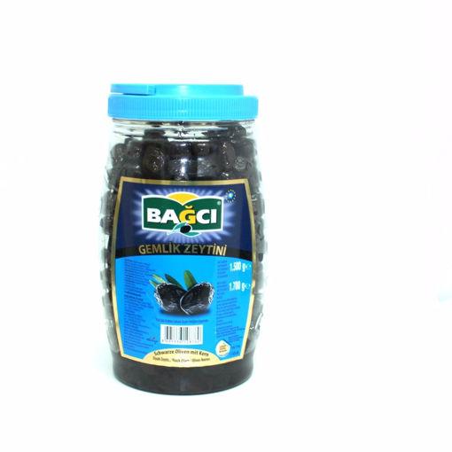 Picture of Bagci Gemlik Black Olives 1500G