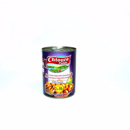 Picture of Chtoura Fields Cooked Fava Beans With Cumin 400G