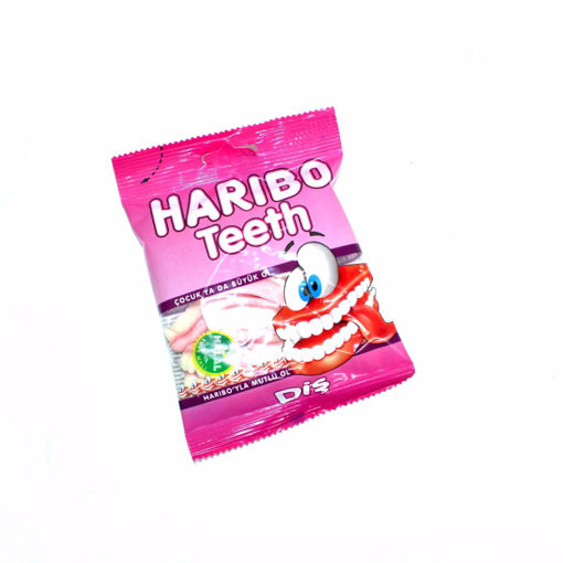 Picture of Haribo Teeth 80G
