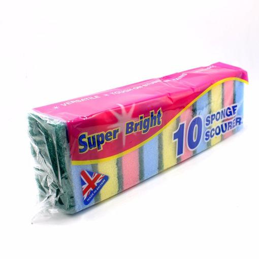 Picture of Super Bright Sponge Scourers