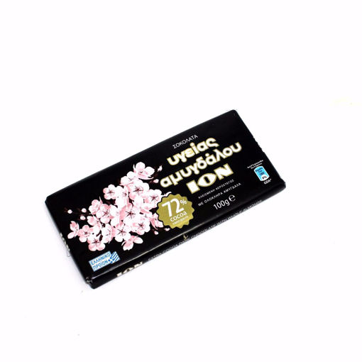 Picture of Ion Extra Cocoa Dark Chocolate With Whole Almond100g