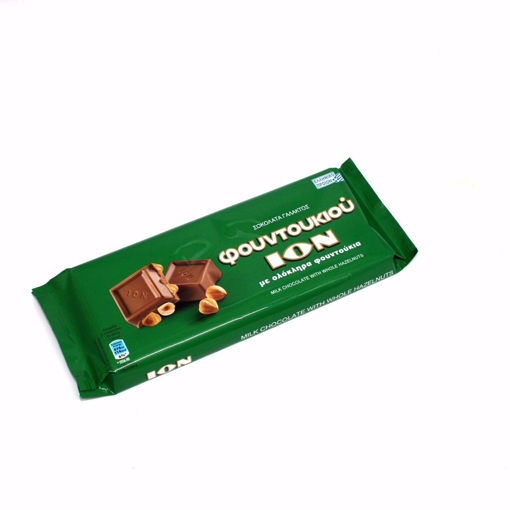 Picture of Ion Milk Chocolate With Whole Hazelnuts 200G