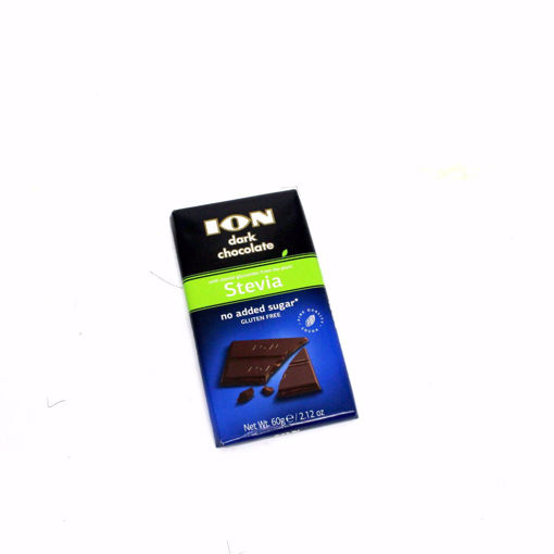 Picture of Ion Dark Chocolate Stevia 60G