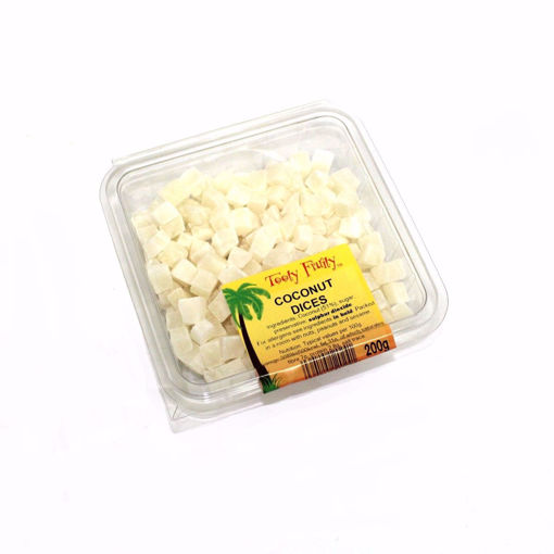 Picture of Tooty Fruity Coconut Dices 200G