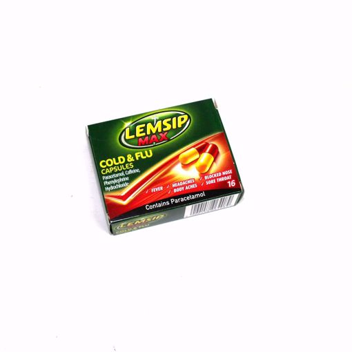 Picture of Lemsip Max Cold & Flu Capsules