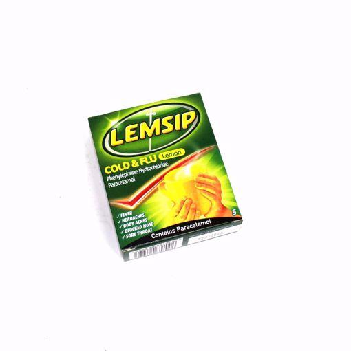 Picture of Lemsip Cold & Flu Lemon