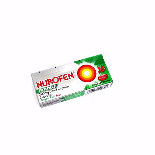 Picture of Nurofen Express Liquid Capsiles 200Mg