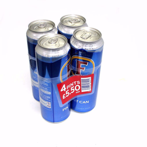 Picture of Fosters Can Beer 4X568ml