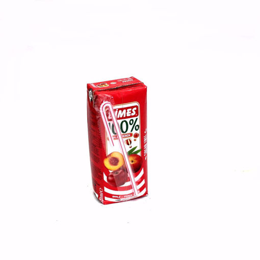 Picture of Dimes Apple & Peach 100%, 200Ml
