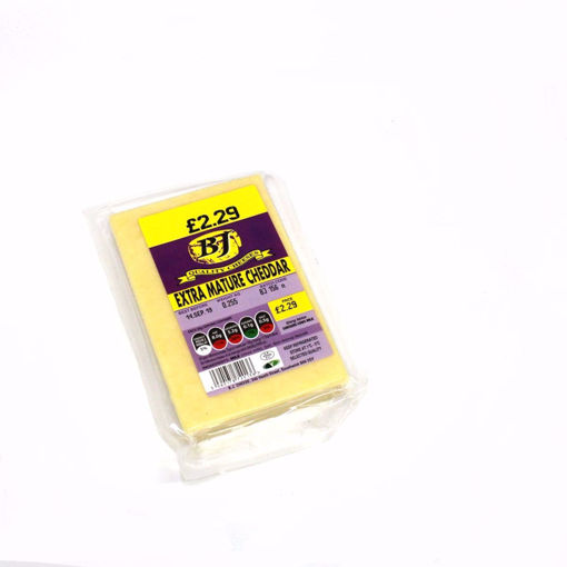 Picture of Bj Extra Mature Cheddar 255G