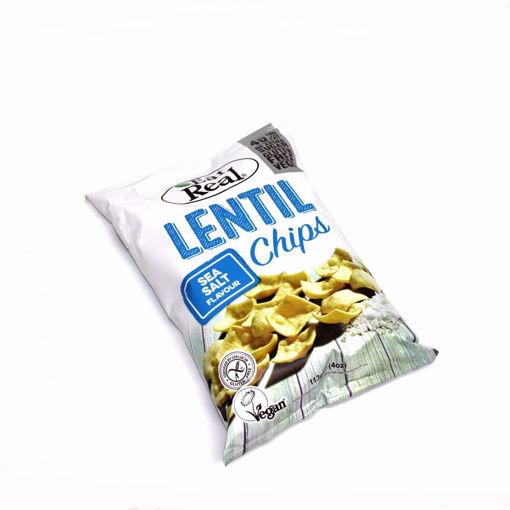 Picture of Eat Real Lentil Sea Salt Flavour Chips 133G